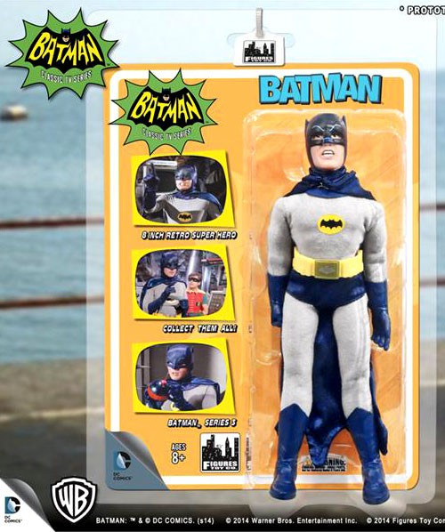 1966 TV Series Classic TV Series 3 Batman Action Figure