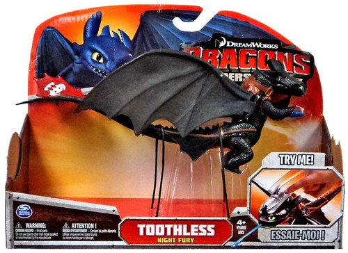 How to Train Your Dragon Defenders of Berk Power Dragons Toothless Action Figure [Lunge Attack]