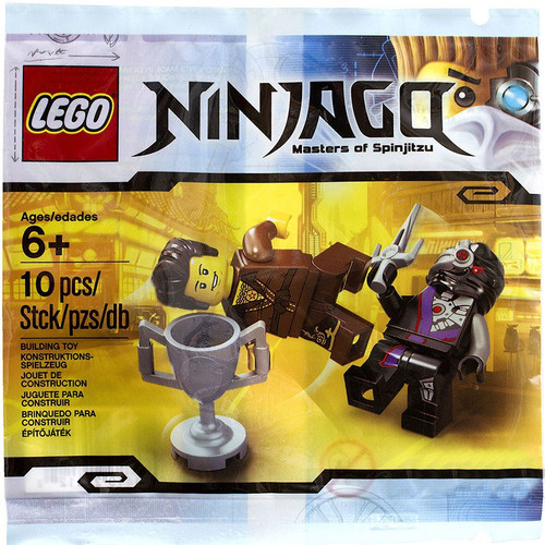 LEGO Ninjago Dareth vs. Nindroid Exclusive Mini Set #5002144 [Bagged]