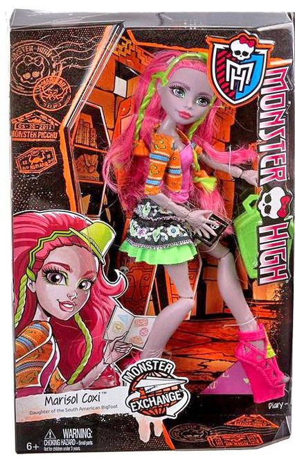 Monster High Monster Exchange Program Marisol Coxi 10.5-Inch Doll