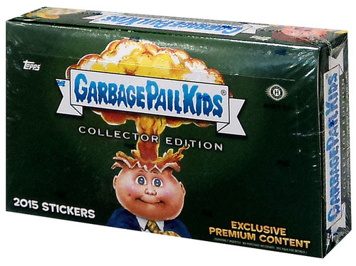 Garbage Pail Kids Topps 2015 Series 1 Trading Card COLLECTOR Edition Box [24 Packs]