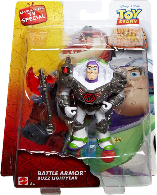 Toy Story That Time Forgot Battle Armor Buzz Lightyear Action Figure