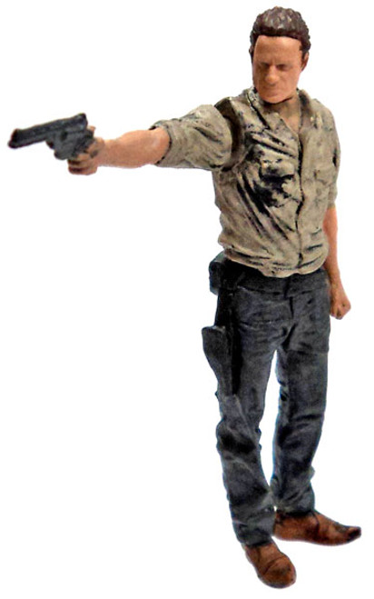 McFarlane Toys The Walking Dead Rick Grimes 2-Inch Mini Figure [Loose]