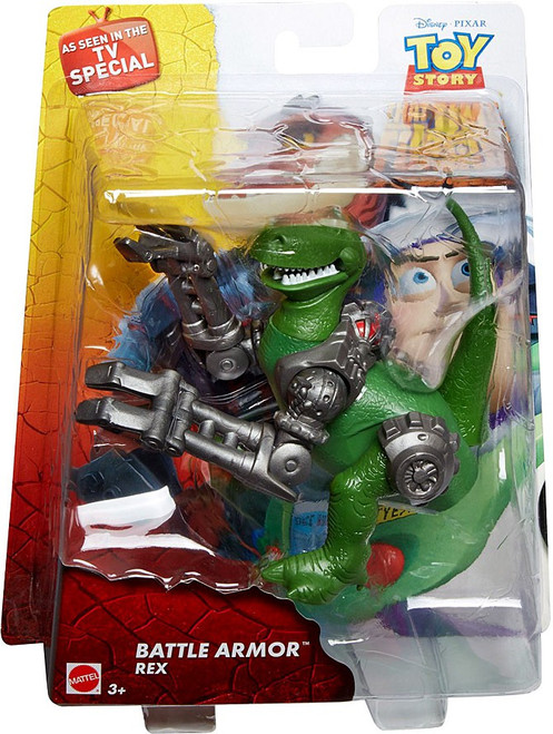 Toy Story That Time Forgot Battle Armor Rex Action Figure