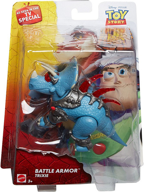 Toy Story That Time Forgot Battle Armor Trixie Action Figure