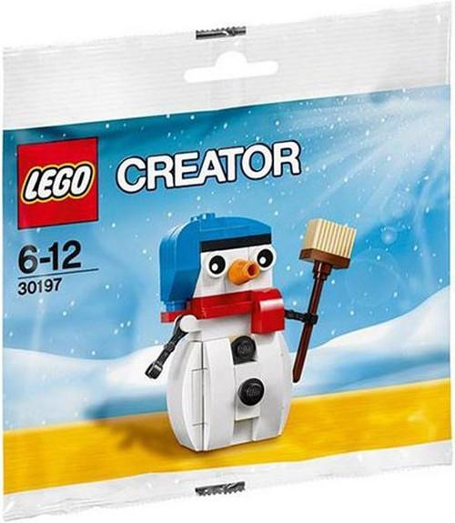 LEGO Creator Snowman #30197 [Bagged]