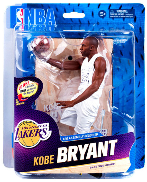 McFarlane Toys NBA Los Angeles Lakers Sports Picks Series 23 Kobe Bryant Action Figure [White Christmas Jersey]