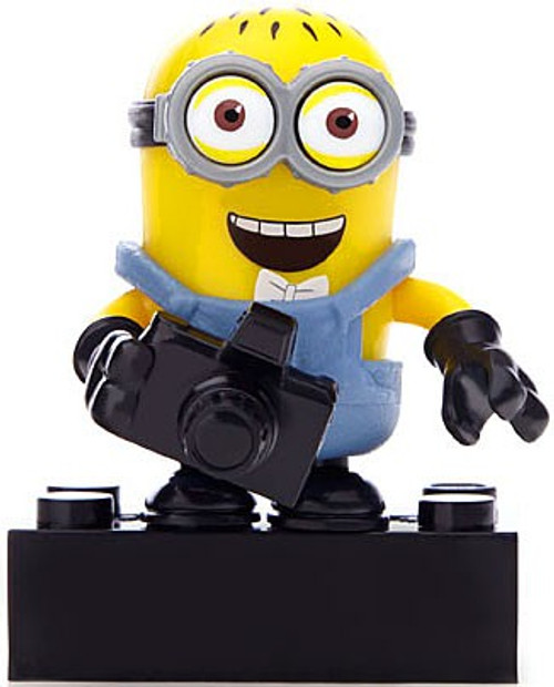 Mega Bloks Despicable Me Minion Made Mystery Minions Series 1 Jerry 1.5-Inch Common Minifigure [Loose]