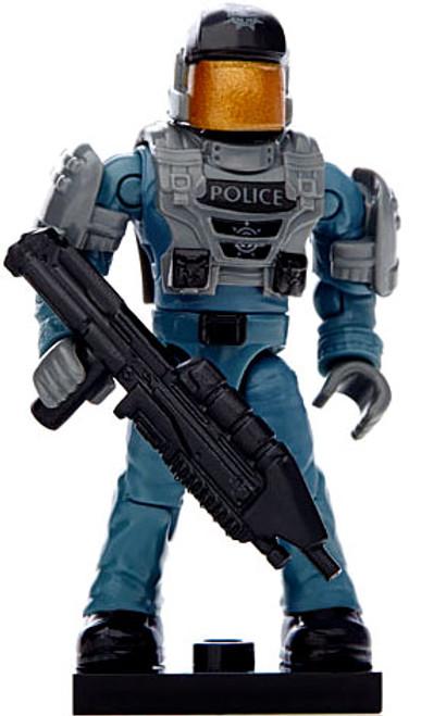 Mega Bloks Halo Bravo NMPD Trooper 2-Inch Common Minifigure [Loose]