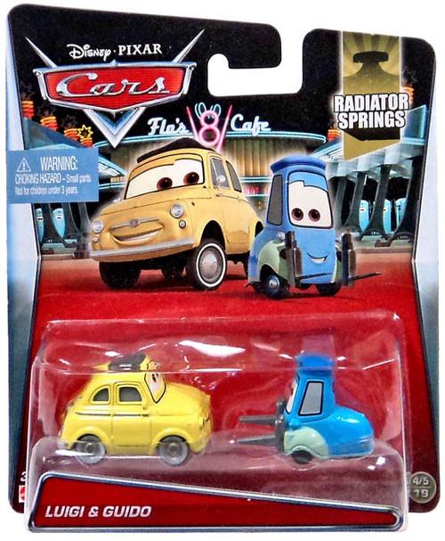 Disney / Pixar Cars Radiator Springs Luigi & Guido Diecast Car #4/19 & 5/19