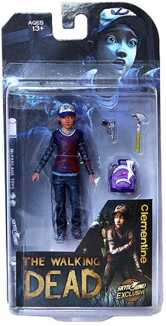 McFarlane Toys The Walking Dead Video Game Clementine Exclusive Action Figure [Bloody]