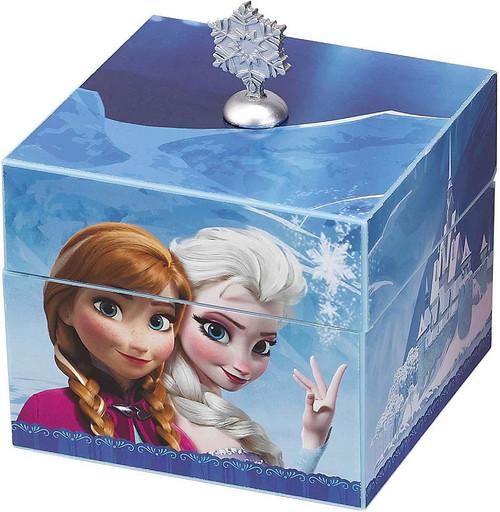 Disney Frozen Anna & Elsa Musical Keepsake Box [Blue]