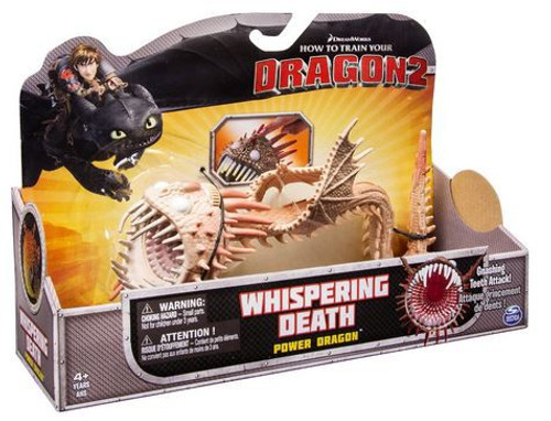 How to Train Your Dragon 2 Whispering Death Action Figure [Tan]