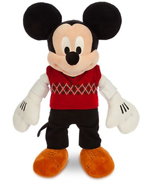 Disney 2014 Holiday Mickey Mouse 17-Inch Plush