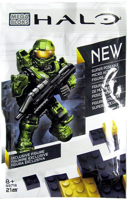 Mega Bloks Halo Master Chief Exclusive Set #99718 [Bagged]