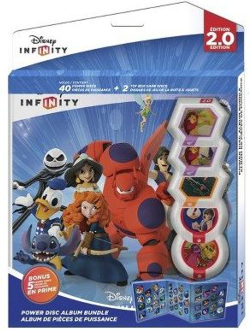 Disney Infinity 2.0 Power Disc Album Bundle