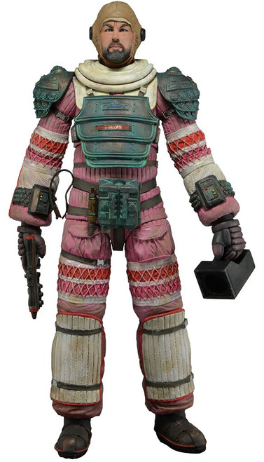 NECA Alien Series 4 Dallas Arthur Action Figure [Compression Suit]