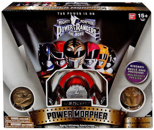 Power Rangers Mighty Morphin Legacy White Ranger Power Morpher Exclusive 4-Inch Roleplay Toy