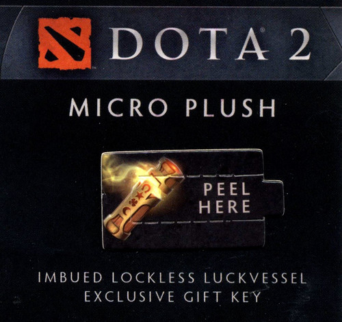 Dota 2 Series 2 Imbued Lockless Luckvessel Code Card [Exclusive Gift Key]