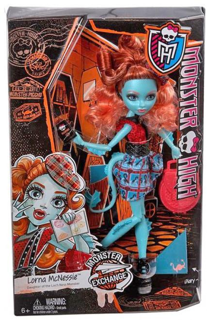Monster High Monster Exchange Program Lorna McNessie 10.5-Inch Doll