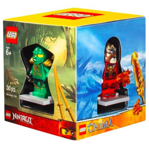 LEGO 2014 Minifigure Boxed 4-Pack Exclusive Set #5004076