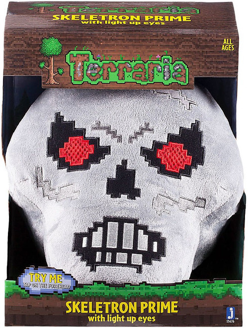 Terraria Skeletron Prime 9-Inch Deluxe Plush [With Light Up Eyes]