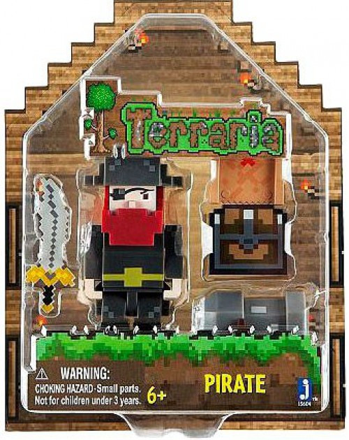 Terraria Pirate Action Figure