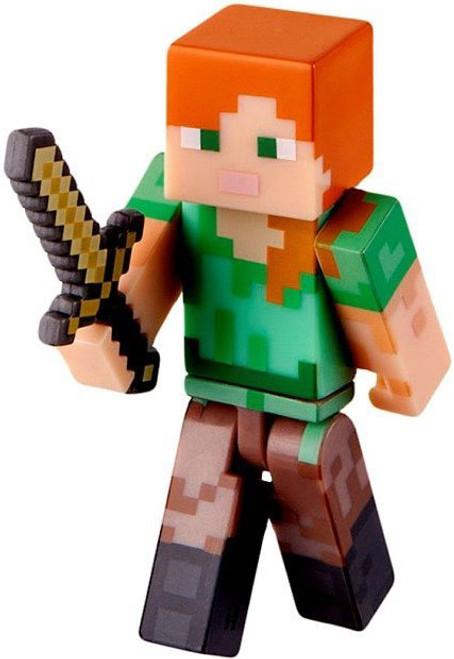 Minecraft Core Alex with Sword Mini Figure [Loose]