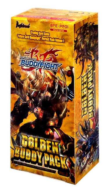 Future Card BuddyFight Trading Card Game Perfect Pack Vol. 1 Golden Buddy Pack Booster Box BFE-PP01 Ver.E [10 Packs]