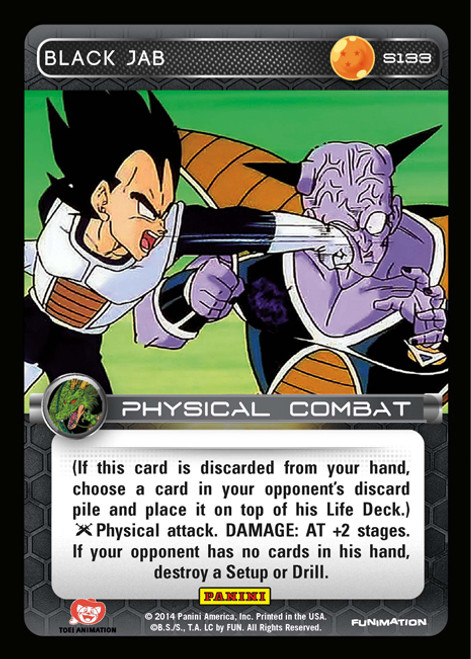 Dragon Ball Z CCG 2014 Starter Set Fixed Foil Black Jab S133