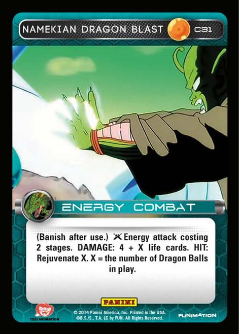 Dragon Ball Z CCG Set 1 Common Foil Namekian Dragon Blast C31