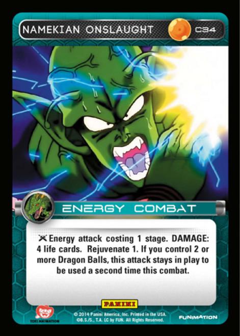 Dragon Ball Z Set 1 Common Foil Namekian Onslaught C34