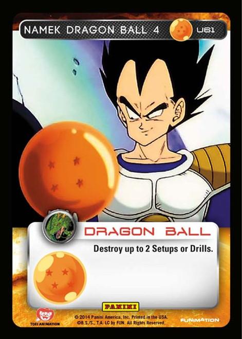 Dragon Ball Z Set 1 Uncommon Foil Namek Dragon Ball 4 U61