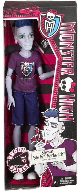 Monster High Ghoul Spirit Sloman Slo Mo Mortavitch 10.5-Inch Doll