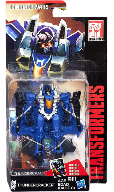 Transformers Generations Combiner Wars Thundercracker Legend Action Figure [Legends]
