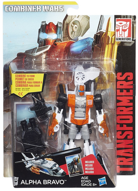 Transformers Generations Combiner Wars Alpha Bravo Deluxe Action Figure [Aerialbot]