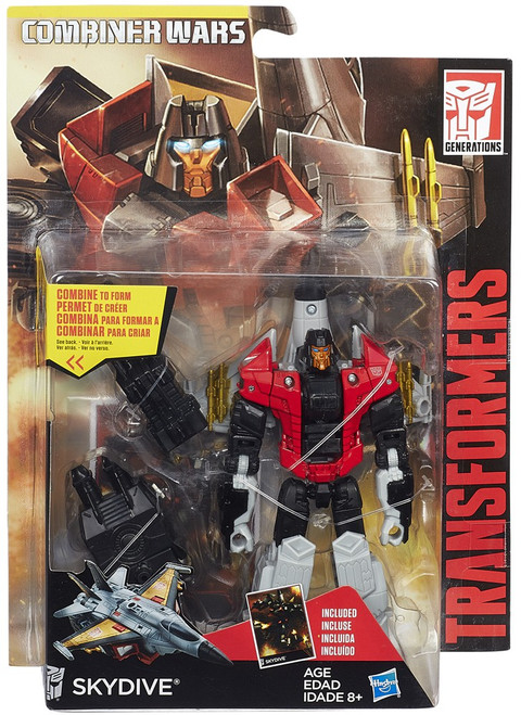 Transformers Generations Combiner Wars Skydive Deluxe Action Figure [Aerialbot]