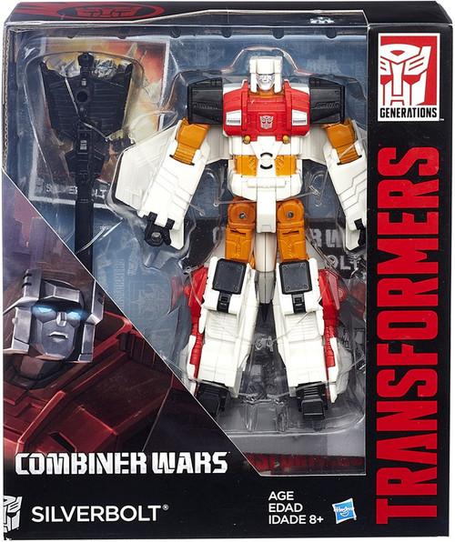 Transformers Generations Combiner Wars Silverbolt Voyager Action Figure [Aerialbot]
