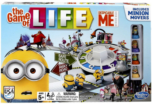 Despicable Me Minion Made The Game of Life Board Game