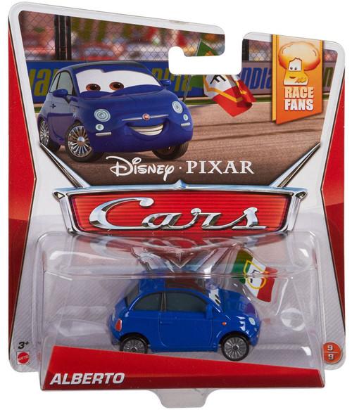 Disney / Pixar Cars Race Fans Alberto Diecast Car #9/9