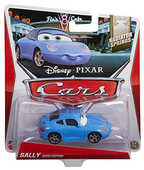 Disney / Pixar Cars Radiator Springs Sally with Tattoo Diecast Car #15/15