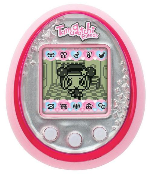 Tamagotchi Friends Tourmaline Gem Virtual Pet [Pink & Silver]
