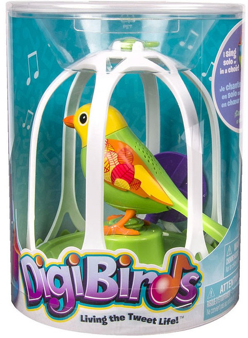 DigiBirds Bella Bird with Bird Cage