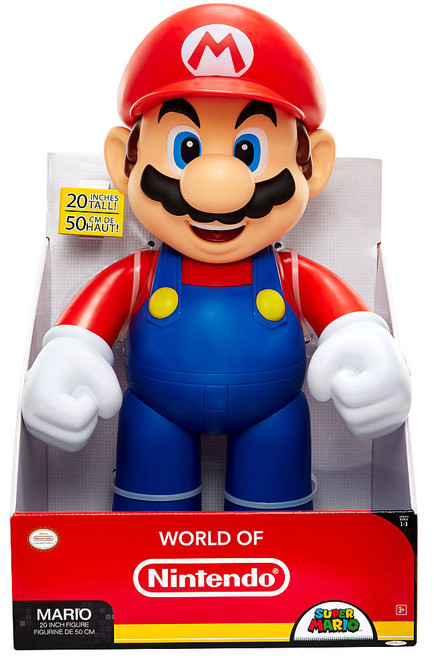 World of Nintendo Super Mario Mario Jumbo Action Figure