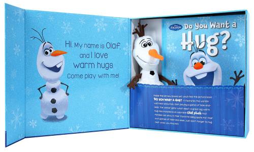 Disney Frozen Hide and Hug Olaf Deluxe Box
