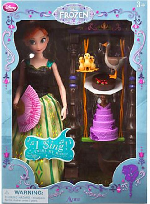 Disney Frozen Anna Exclusive 11-Inch Deluxe Singing Doll Set