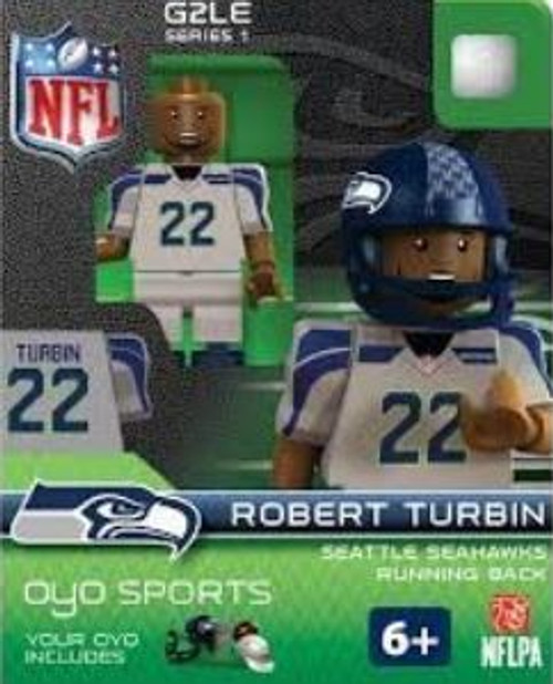 Seattle Seahawks NFL Generation 2 Series 1 Robert Turbin Minifigure