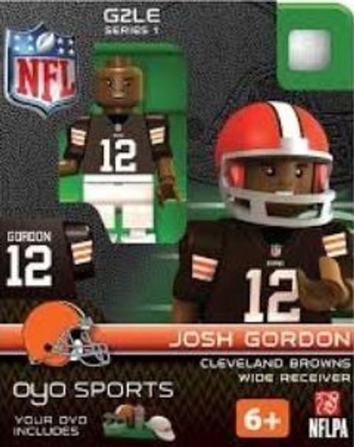 Cleveland Browns NFL Generation 2 Series 1 Josh Gordon Minifigure