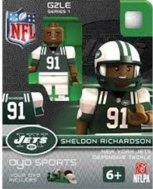 New York Jets NFL Generation 2 Series 1 Sheldon Richardson Minifigure