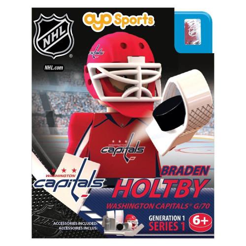 Washington Capitals NHL Generation 1 Series 1 Braden Holtby Minifigure